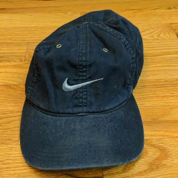 Nike Other - Nike blue worn looking hat